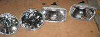 CRYSTAL ROUND OR RECTANGLE HEADLIGHTS LIGHTS