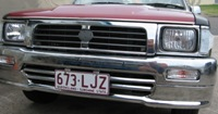 CHROME FRONT ENDS FOR HILUX